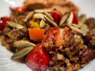 Mexican Quinoa – Easy One Pan